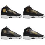 Pittsburgh Steelers AJ13 Sports Teams Shoes