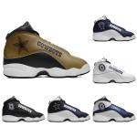 Dallas Cowboys AJ13 Basketball Shoes