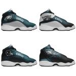 Philadelphia Eagles AJ13 Basketball Shoes