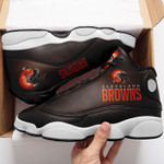 Cleveland Browns AJ13 Basketball Shoes
