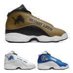 Detroit Lions AJ13 Sports Teams Shoes