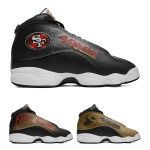 San Francisco 49ers AJ13 Basketball Shoes