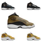 Jacksonville Jaguars AJ13 Basketball Shoes