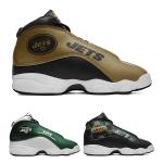 New York Jets AJ13 Basketball Shoes