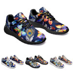 Butterfly Peacock Feather Casual Sneakers