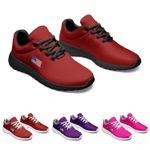 American Flag Color Sneakers
