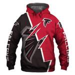Atlanta Falcons Hoodie American Flag Grim Reaper Sickle American Football Sweatshirt