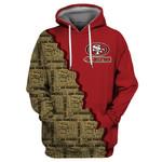 San Francisco 49ers Hoodie Flag Skull Harley Quinn Grim Reaper Halloween Murderer Jason Freddy Sweatshirt