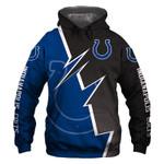 Indianapolis Colts Hoodie Skull Venom American Flag Halloween Murderer Jason Freddy Sports Team Sweatshirt