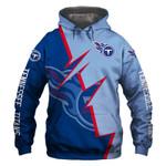 Tennessee Titans Hoodie Flag Skull Venom American Football Sports Team Sweatshirt