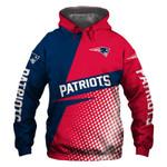 New England Patriots Hoodie USA Flag Skull Halloween Murderer Jason Freddy Venom Sports Team Sweatshirt