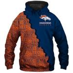 Denver Broncos Hoodie Skull Venom American Flag Halloween Murderer Jason Freddy Football Sweatshirt