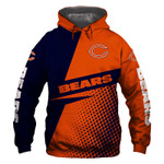 Chicago Bears Hoodie USA Flag Grim Reaper Skull Venom Football Sweatshirt