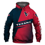 Houston Texans Hoodie Skull Venom American Flag Sports Team Sweatshirt