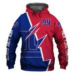 New York Giants Hoodie American Flag Grim Reaper Skull Halloween Murderer Jason Freddy Sports Team Sweatshirt