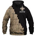 New Orleans Saints Hoodie American Flag Skull Grim Reaper Venom Sports Team Sweatshirt