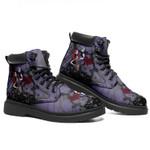 Jack Skellington Sally Leather Boots Halloween Terror Santa Claus Shoes