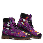 Halloween Jack Sally Boots The Nightmare Before Christmas Santa Claus Shoes