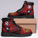 Jack Skellington Sally Boots Halloween Pumpkin Monster Shoes