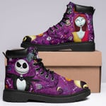 The Nightmare Before Christmas Boots Jack Skellington Sally Shoes