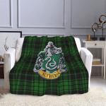 Harry Potter HP Slytherin Fleece Blanket