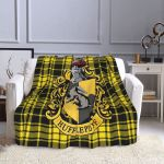 Harry Potter Hogwarts Hufflepuff Blanket
