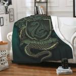 Harry Potter Slytherin Soft Fleece Blanket