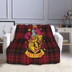 Harry Potter Hogwarts Gryffindor Blanket