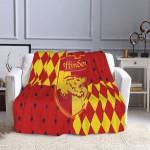 Harry Potter Gryffindor Soft Fleece Blanket