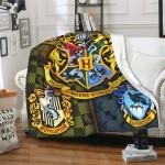 Harry Potter Super Soft Cozy Hogwarts Blanket