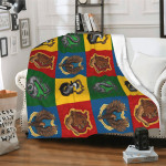Harry Potter Throw Blanket Harry Potter Fleece Blanket