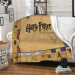Harry Potter Game Blanket For Adults Kids