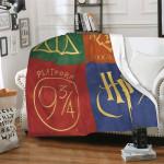 Harry Potter Throw Blanket