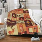 Harry Potter Fleece Blanket For Adults Kids