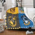 Harry Potter Blanket Super Soft Hogwarts Adults Kids Blanket