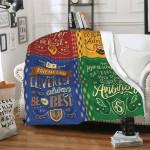 Harry Potter Cozy Elegant Hogwarts Blanket
