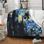 Harry Potter Van Gogh Throw Blanket