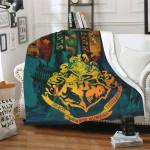 Harry Potter Cozy Hogwarts Blanket