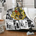 Comics Harry Potter Hogwarts School of Witchcraft and Wizardry Blanket