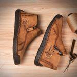 Zapatos altos de piel para hombre hechos a mano
