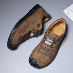 Zapatos bajos cepillados talla grande