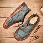 Zapatos casuales cosidos a mano
