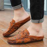 Zapatos mocasines cosidos a mano