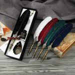 Set de regalo de caligrafía Classy Quill Vintage Fountain Pen