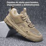 Zapatos de otoño para hombre, impermeables y antideslizantes