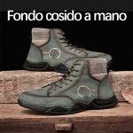 Zapatos de cuero transpirable de alta calidad