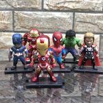 Juego de 6 piezas Marvel Avengers