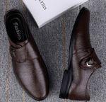 Zapatos de piel para hombre.