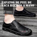 Zapatos de piel de vaca hechos a mano