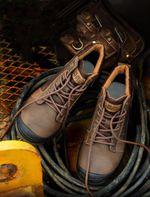 Zapatos de trabajo resistentes a los pinchazos